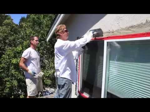 see fast stucco demonstrations in extreme heat