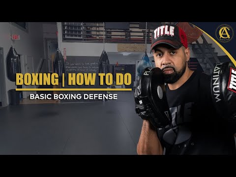 Boxing   How To Do Basic Boxing Defense   It's ON! Boxing MMA