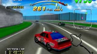 Daytona USA Deluxe - SeaSide Street Galaxy