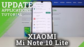 How to Update Apps in XIAOMI Mi Note 10 Lite – Download App Actualizations
