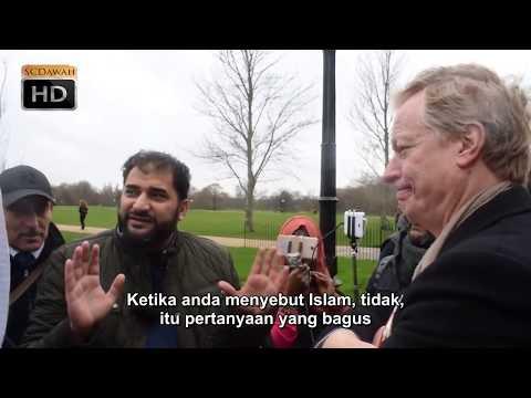 P1 - Ketahui Sejarahmu!! Adnan vs Atheist Speakers Corner Hyde Park