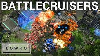 StarCraft 2: MASS BATTLECRUISER BATTLES! (TY vs Cure)