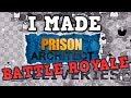 I Made Prison Architect Battle Royale. W