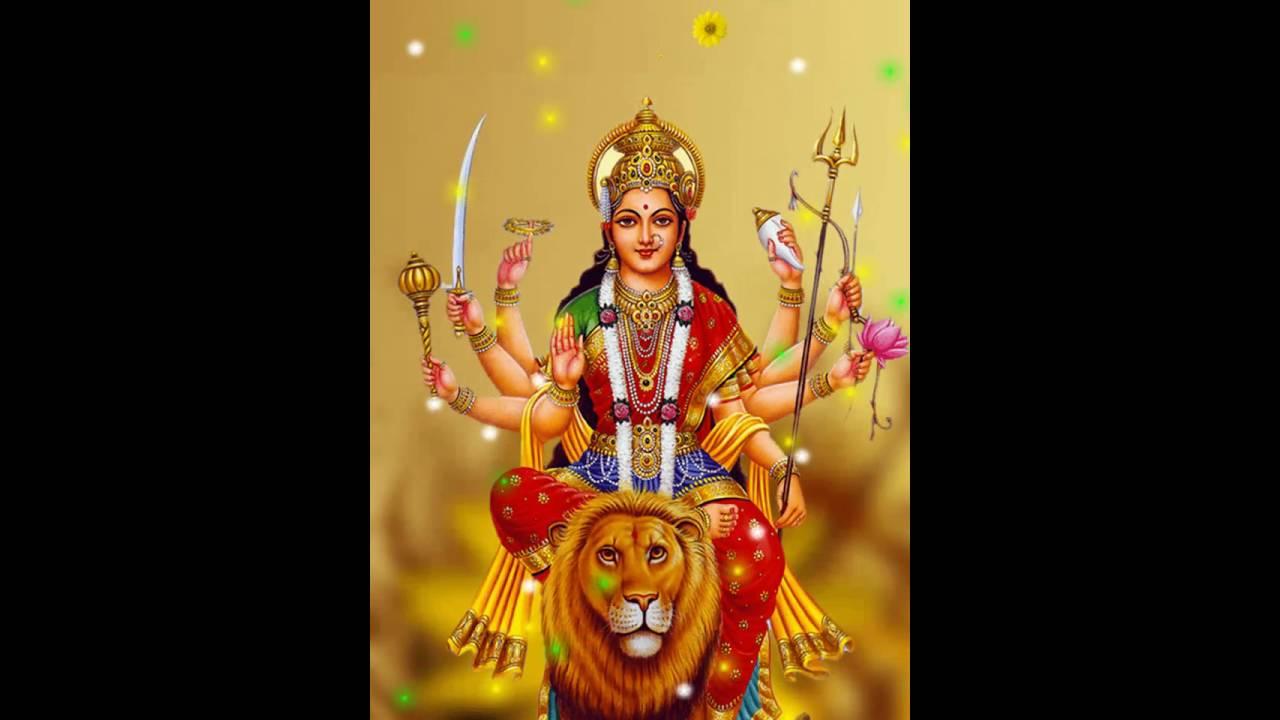 Durga Maa Live Wallpaper Hd Youtube