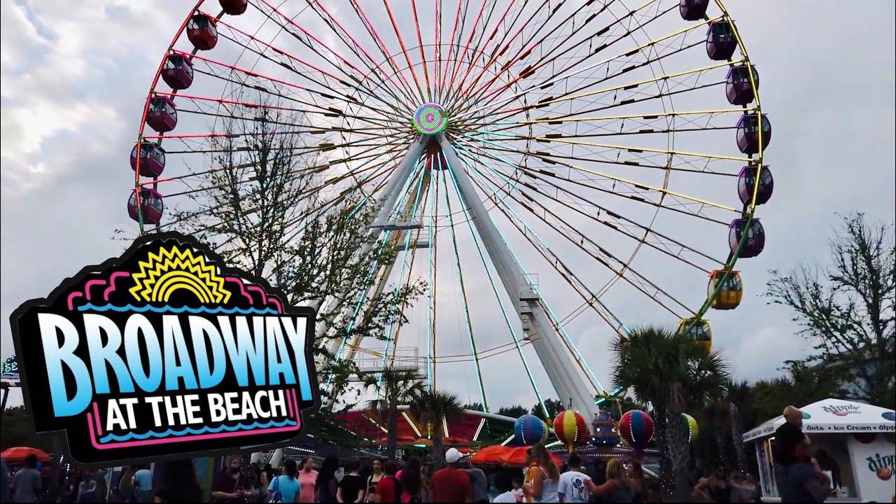 Broadway at the Beach Saturday Night - June 2021 - Myrtle Beach, SC
