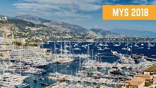 Водная прогулка по выставке яхт в Монако. MYS 2018
