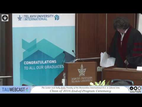 The International B.A. in Liberal Arts: Class of 2016 - End-of-Program Ceremony