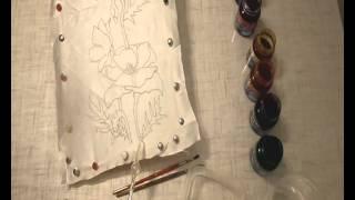 видео Из истории художественной росписи тканей