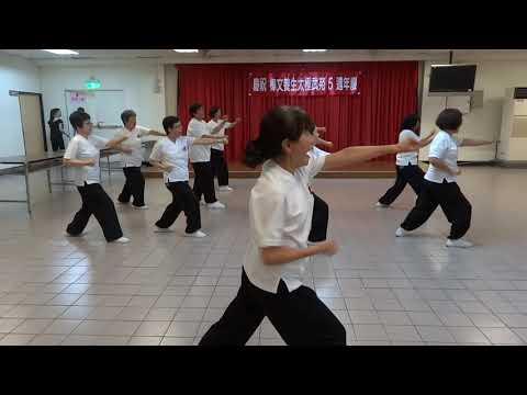 12步拳~樟文養生太極武苑五週年~105 5 16