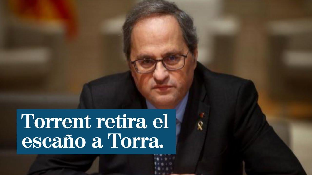 Torrent retira el escaño a Torra y la legislatura queda vista para sentencia
