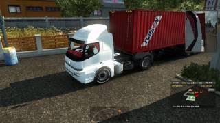 Euro Truck Simulator 2 - BMC Profesyonel 827 4X2 Çekici Modu Artvin Erzurum Yolları