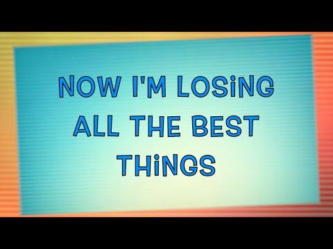 All The Best Things - Rob Thomas (Lyrics + Full Audio)