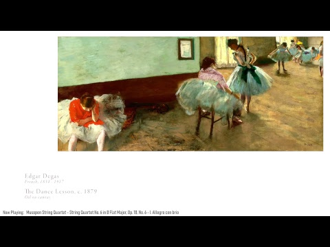 The Gallery 24/7 Art Livestream and Classical Radio