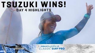 Historic Japanese Win for Amuro Tsuzuki, ABANCA Galicia Classic Surf Pro Highlights