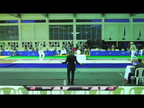 Championnats Panaméricains, Individual Finals 17 June 2013 Cartagena, Colombia - Spanish