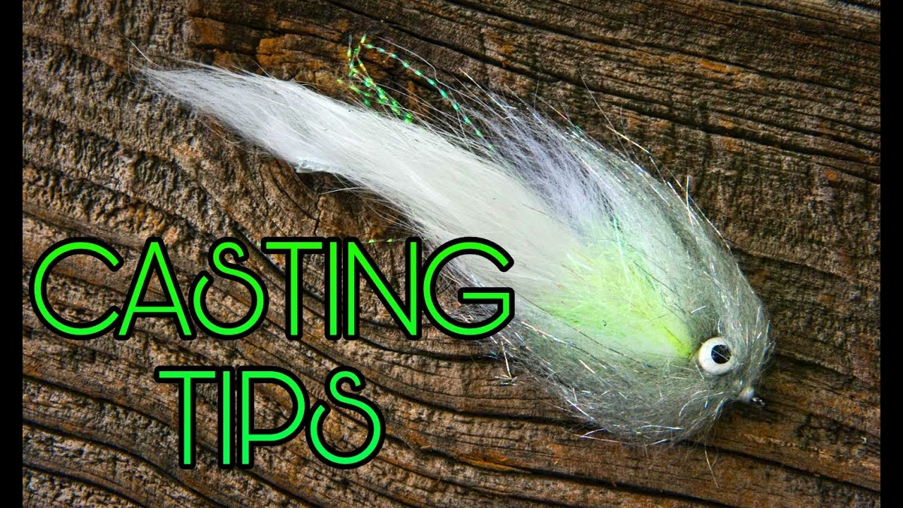 How to cast big bass and pike flies streamers bugs for How to fly fish for bass