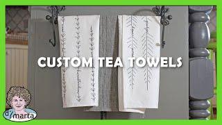DIY Tea Towel Design