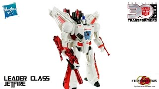 Video Review of the Transformers Generations: Leader Class Jetfire