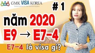 Hướng dẫn chi tiết visa E7-4.  - Tiêu chuẩn xét tuyển E7-4 vào năm 2020 'phần 1'