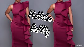 How to make a flounce(Easiest method)