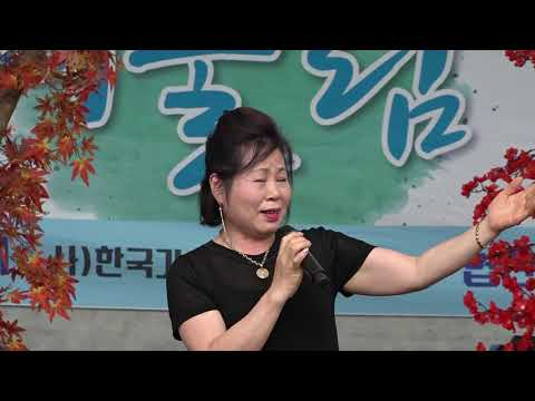 가수 조수미 눈물의연평도  효사랑어울림한마당 용두그린공원 무대 2019 6 23