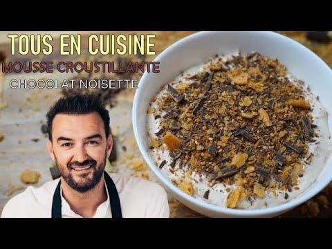 tous-en-cuisine-#81-:-la-mousse-croustillante-chocolat-noisette-de-cyril-lignac-!