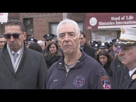 FDNY Lt. Christopher Raguso Bunting Ceremony