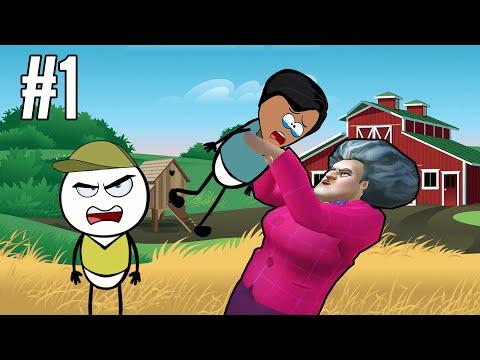 SCARY TEACHER 3D Part 1 - Horror Game | Horror Story (ANIMATED IN HINDI) Make Horror Of