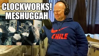 Drum Teacher Reacts: MESHUGGAH - Clockworks (DRUM PLAYTHROUGH w/ TOMAS HAAKE)