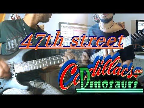 """47th street""  Cadillacs & dinosaurs cover"