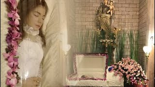 First Day ng Funeral ni Isabel Granada; para lang siyang si Sleeping Beauty
