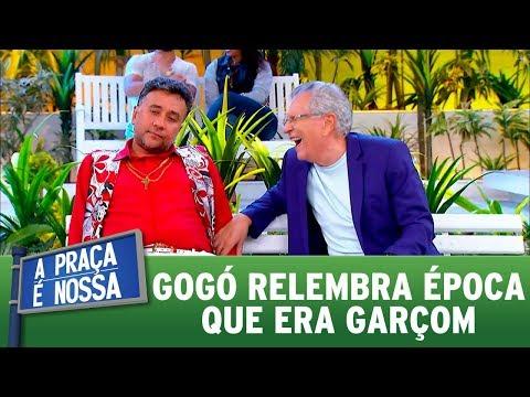 Gogó relembra época que era garçom | A Praça é Nossa (30/11/17)