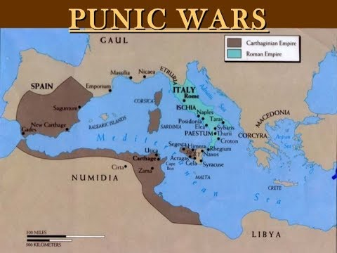 World History- Punic Wars between Rome and Carthage - YouTube on