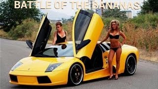 Lamborghini vs Lotus Battle of The Bananas