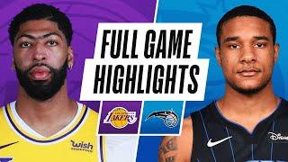 GAME RECAP: Lakers 114, Magic 103