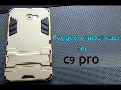 half off d2341 97e6a Rugged armour kickstand case for samsung c9 pro-Review!