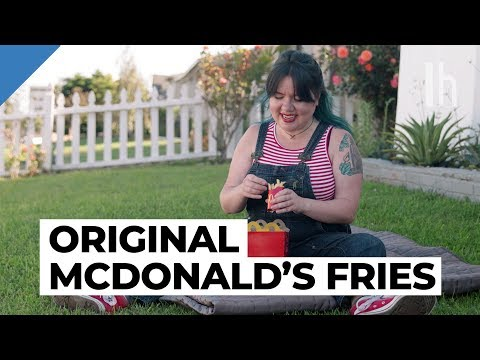 How to Make McDonald's French Fries at Home | Fast Food Dupes with Claire