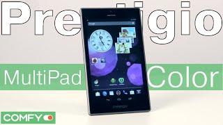 Prestigio MultiPad Color PMT5777 - яркий планшетный компьютер - Видеодемонстрация  от Comfy