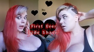 Long Hair Side Shave FIRST EVER