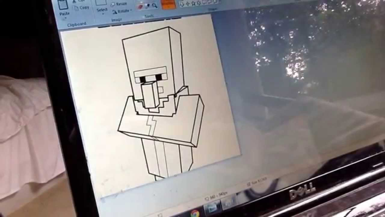 youtube minecraft coloring pages - photo#16