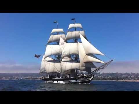 big Sailing Ship at sail festival