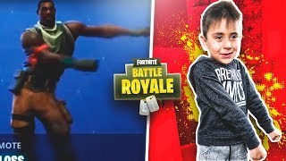 FORTNITE BAILES IN REAL LIFE WITH MY LITTLE BROTHER! -ByDilan