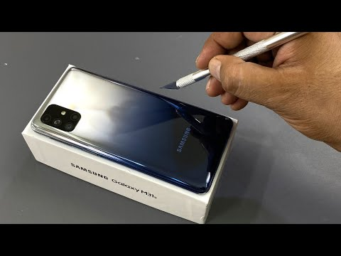 Samsung M31s Unboxing & Camera Test | Mirage Blue Colour