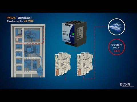 PXS24 - Elektronische Absicherung für 24 VDC | Anwendung