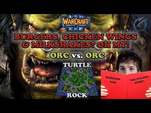 Grubby | Warcraft 3 The Frozen Throne | Orc v Orc - Burgers, Chicken Wings, Milkshakes Oh My!