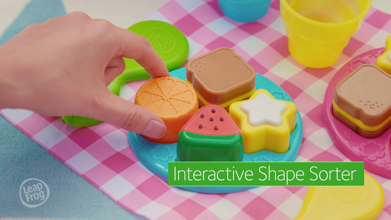 Leapfrog Shapes Sharing Picnic Basket Youtube