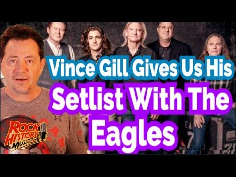 Vince Gill On What Songs He'll Sing With The Eagles & How He's a Fit