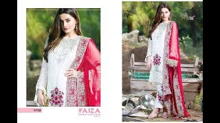 Latest Indian Dresses Collections 2017    Wholesale & Retail Suits    SHREE FABS FAIZA LUXURY  VOL 3