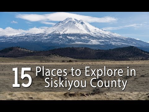 15 Places to Explore in Siskiyou