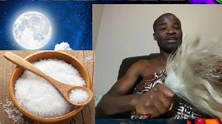 Full MOON Salt Water Salt Bath For Natural Connection💨💧👏🌻   Evangelist Addai